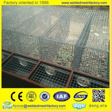 factory Mink cage/Mink wire mesh cage/Wire feeding mink cages