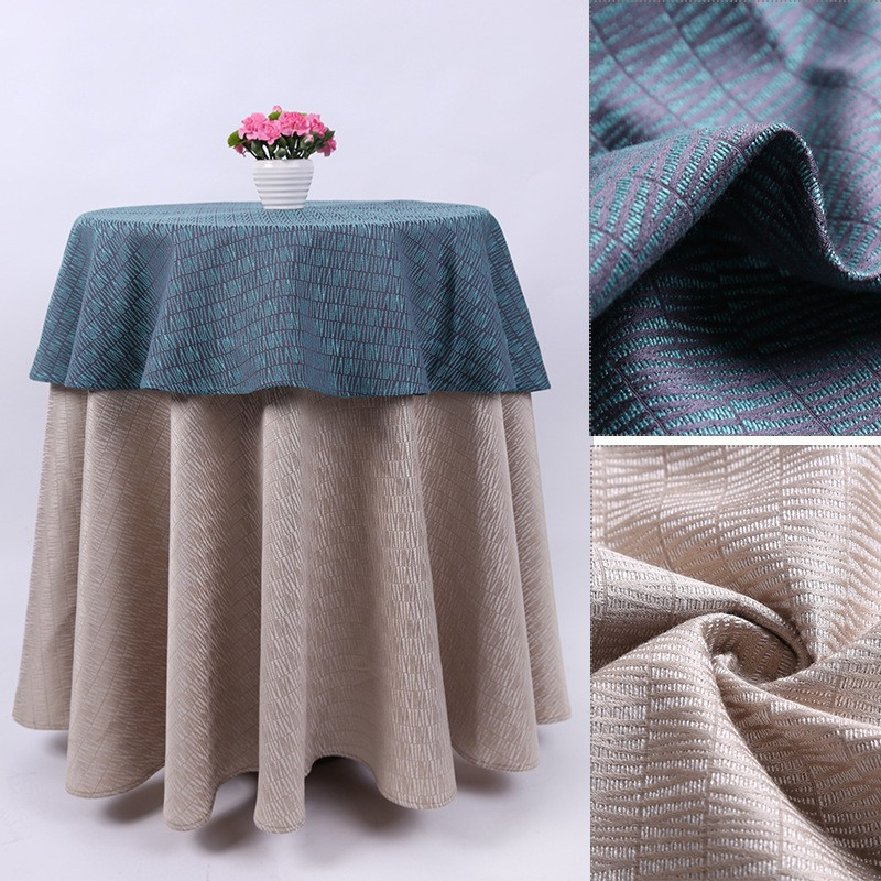 Custom made tablecloths for home textile,wedding,restaurant,banquet