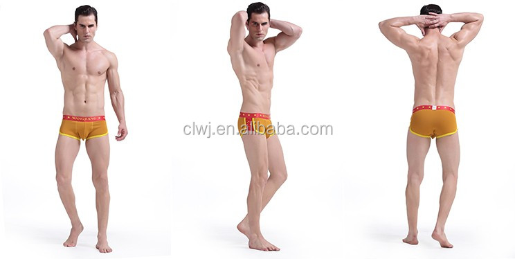 Sex man underwear OEM factory fashion man underwear cotton