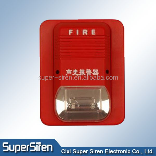 Siren Sirena security accessories china factory 220v siren fire alarm