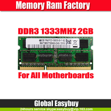 Full compatible china laptop ddr 3 ram 2gb memory