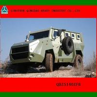 4X4 Military Bulletproof and Anti-mine Wheeled Armored Vehicle for sale