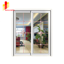 Chinese High Quality Engergy Saving Thermal Break Sliding Aluminum Doors with Double Glazing