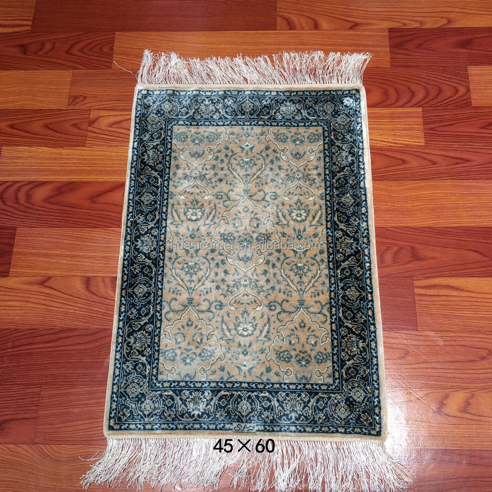 seda persa alfombras orientales hechas a mano musulmanes