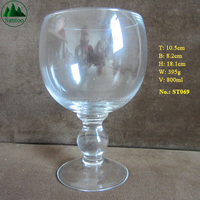 800ml Schooner Drinking Glasses with Printing Logo