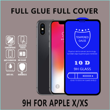10D tempered glass Film for iphone, 9h protective for iphone xr tempered glass screen protector 9H