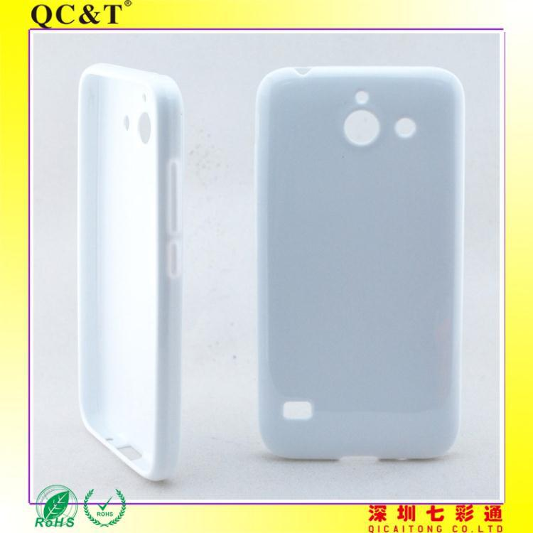 Transparent TPU mobile phone case for Huawei Y550