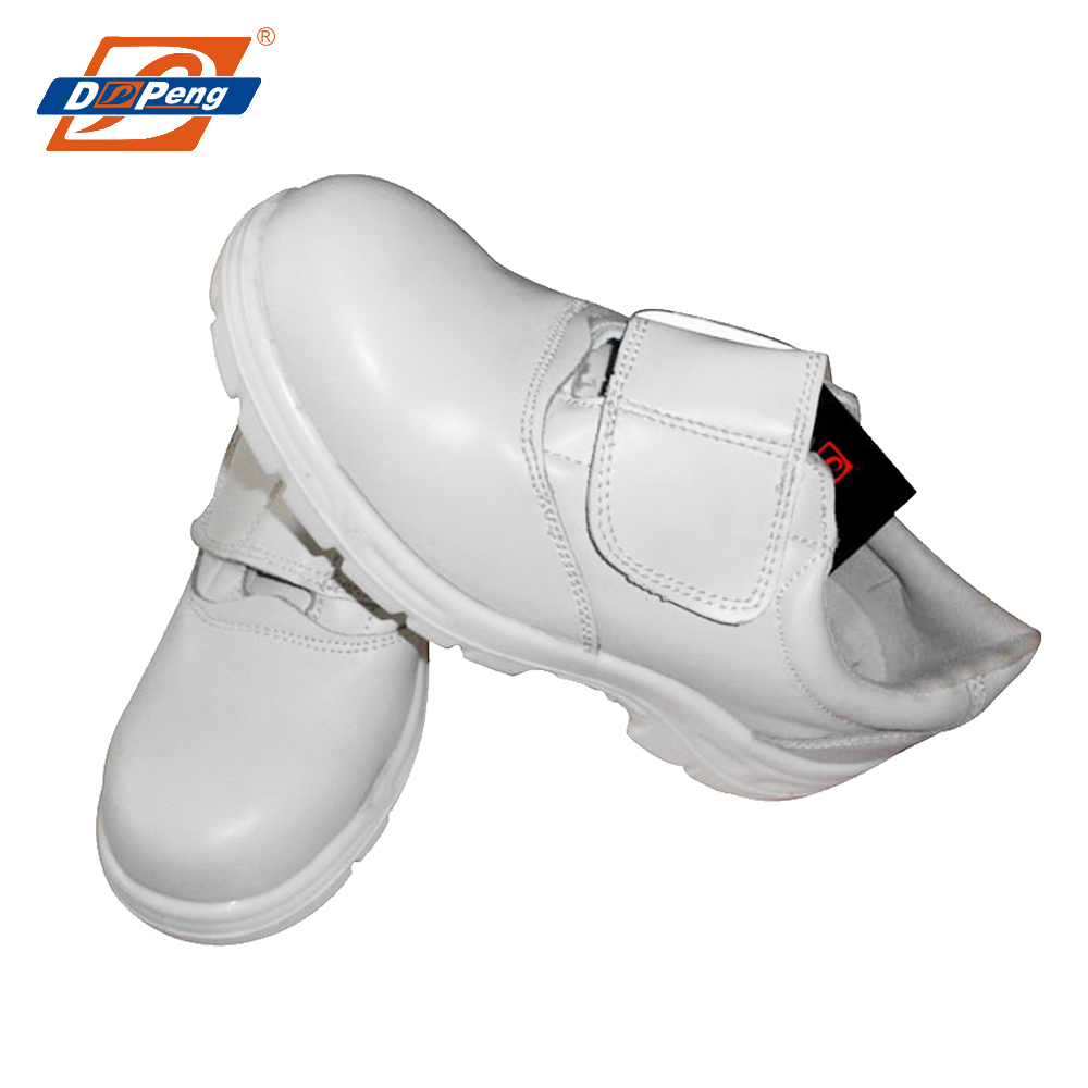 latest stylish sport sanitary white safety shoes for food industry