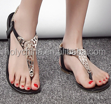 hot sale high quality latest women flat sandals