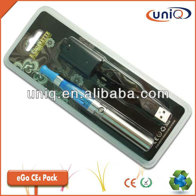 CE4 eGo ecigarette in Blister pack