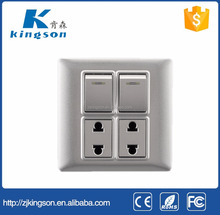 New arrival smart wall switch for home use two gang two way