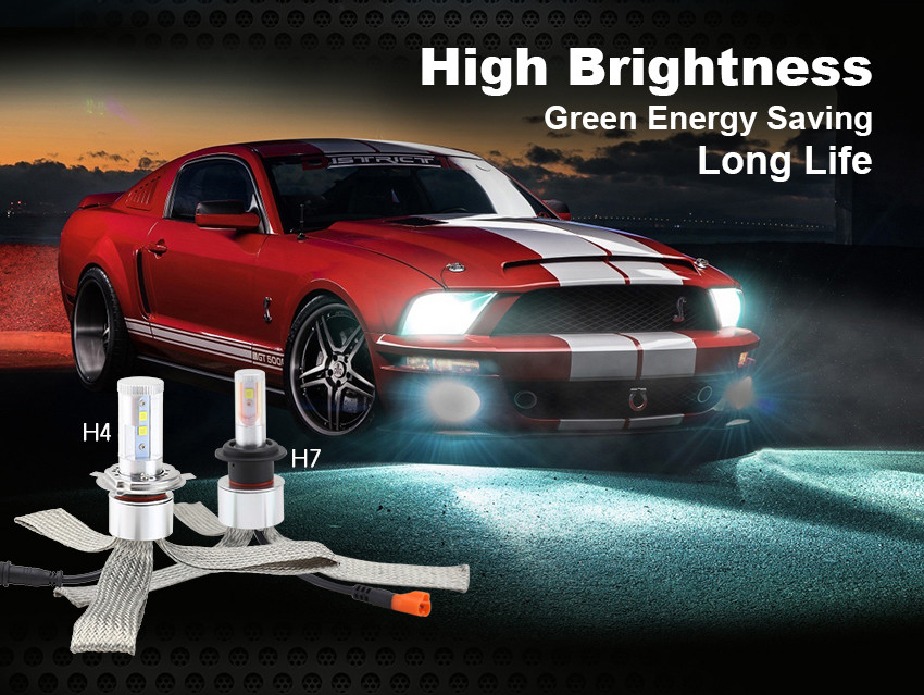 Wholesale super bright H11 led headlight bulb 3000lm 6000k high canbus for 99% car