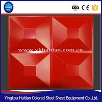 updated nice embossed 3d wall panel made in factory