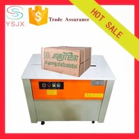 Semi automatic carton box strapping machine for pp strapping