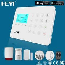 perimeter Wireless Intruder Security GSM Home safety Alarm System with APP