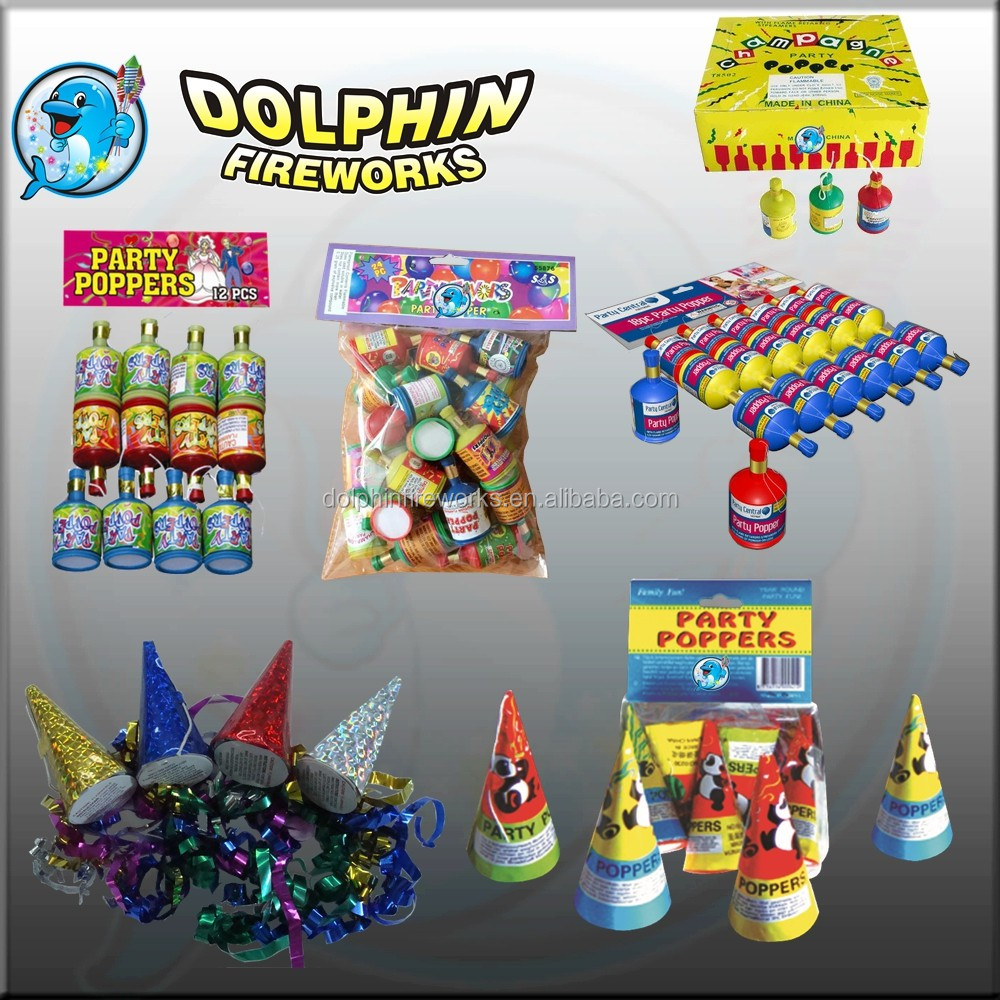 Party Poppers fireworks Party Pistol toys fireworks