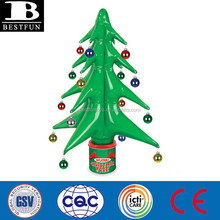 factory supply inflatable Christmas tree indoor for Christmas decoration