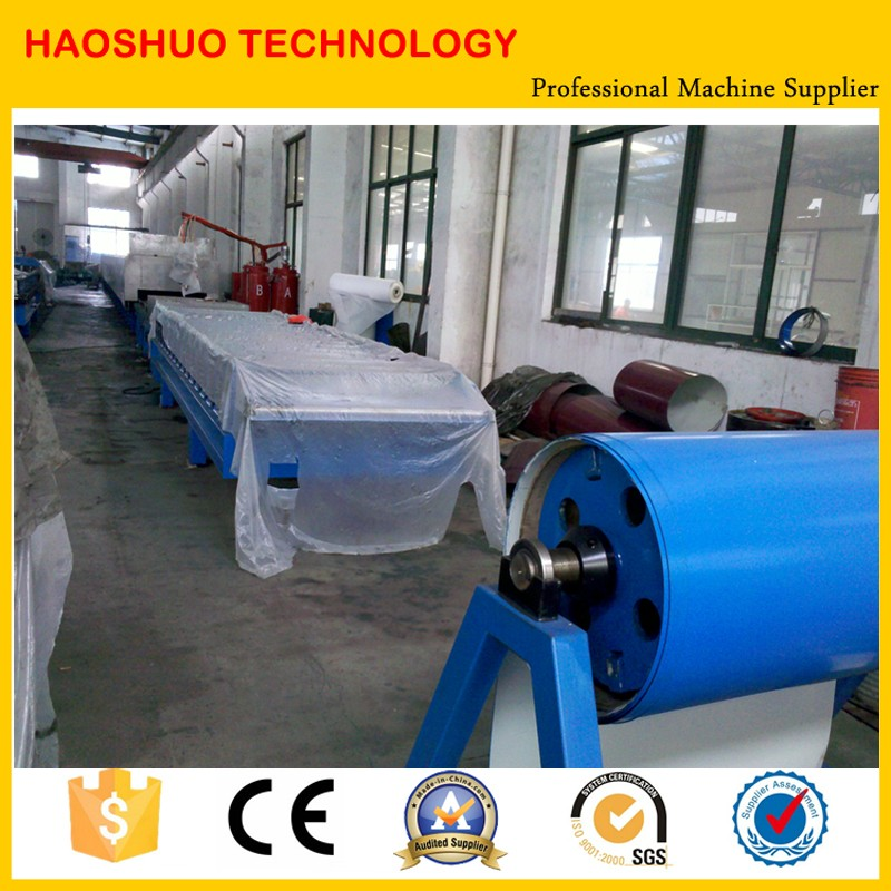 Automatic PU Foam Sandwich Panel Production Line Roll Forming Machine