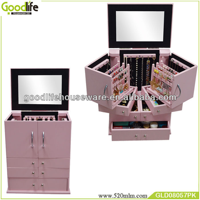 home furniture wooden makeup dresser with mirror dressers