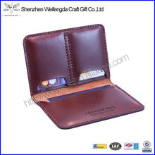 Fashion New Promotion Cowhide Genuine Leather Passport Case