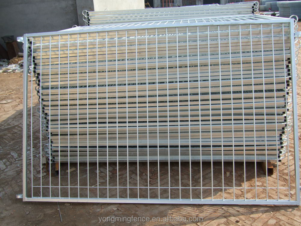 Security retractable pool fencing and fence gate