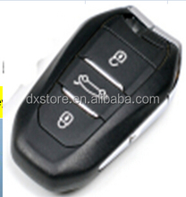 High quality 3 buttons DS 5 car remote key 433mhz with emergency key with logo for citroen remote control key
