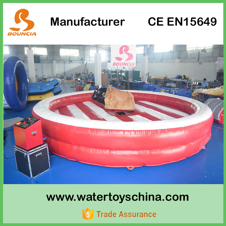 Guangzhou Bouncia New Inflatable Mechanical Bull For Sale