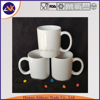 Directly from China manufacturer supply high quality cheap heat transfer mug with handle, top sale ceramic coffee/tea cups