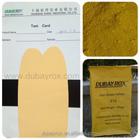 Rubber Coating Iron Oxide Yellow 810 for Car Peel Off Plastic Dip Manufacture