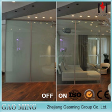 GM Cheap PDLC Film Glass/lcd switchable privacy glass/Smart Glass Prices