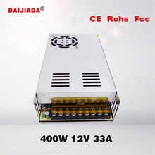 Contant voltage 400w switching power supply 33a 12v cctv power supply 400w 12v 33a switching power supply CE factory price