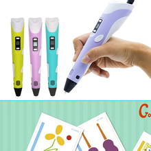 Factory Hot Sale 3D Pen OEM 3d drawing printer magic pen children toy pen for kids gift