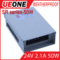 aluminum case 24VDC constant voltage led POWER SUPPLY