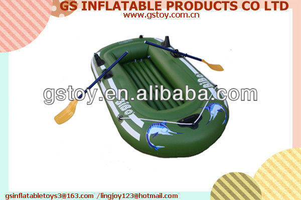 PVC small inflatable portable fishing boat EN71 approved