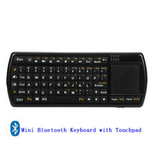 Bluetooth Air Mouse with Keyboard for Smart TV