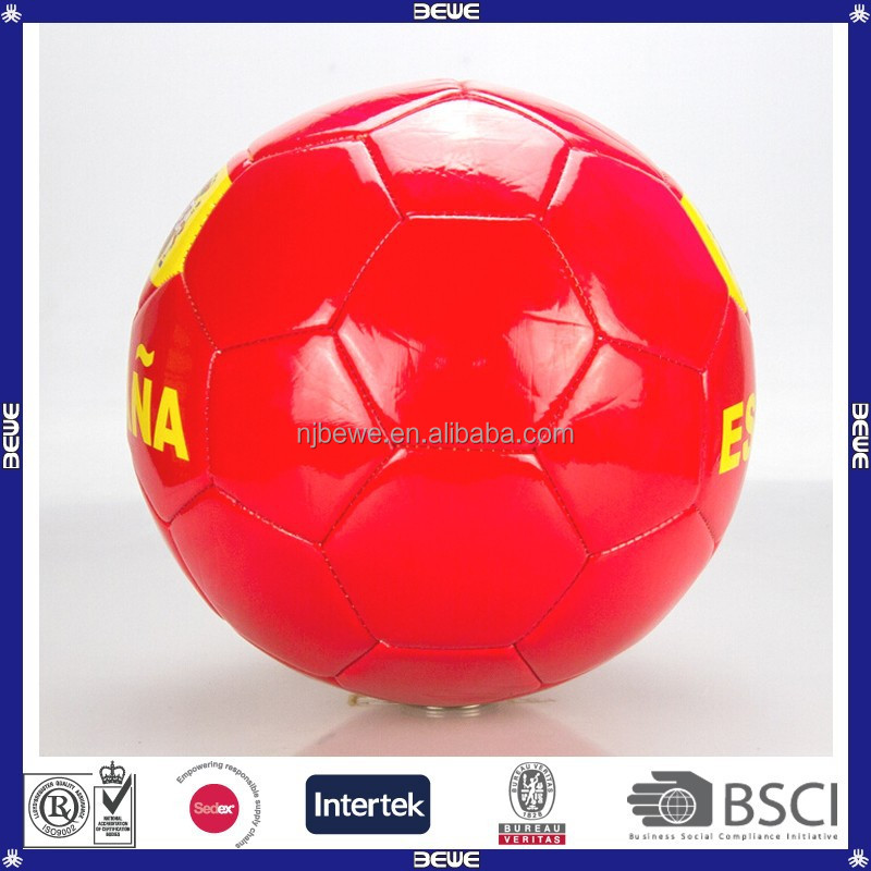 best choice made in China promotional quality cheap price different types soccer ball material tpu