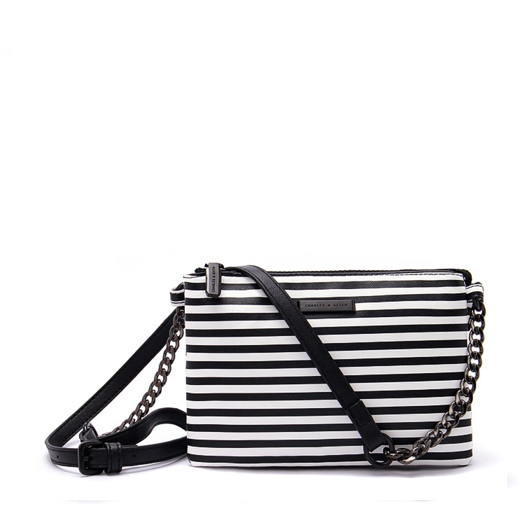 For summer PU leather striped youthful girls cross body bags handbags