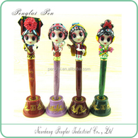 2016 peking opera various roles polyresin packed by blister card Chinese tranditional pen