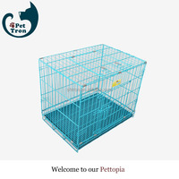 New coming good quality colorful metal folding pet cage