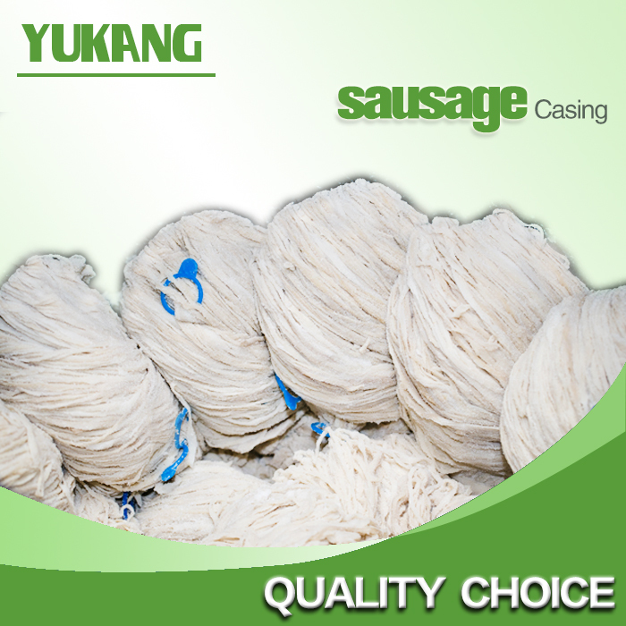 good quality caliber 16-28mm edible sausage sheep casing for sales