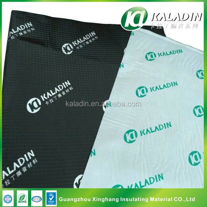 Shock Insulation Sheet Butyl Rubber with Aluminum Foil Sound Deadening Pads
