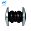 Nonmetal flexible water pn16 double ball flexible rubber pipe coupling