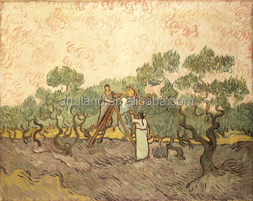 Handmade master oil paintings reproduction of Vangogh