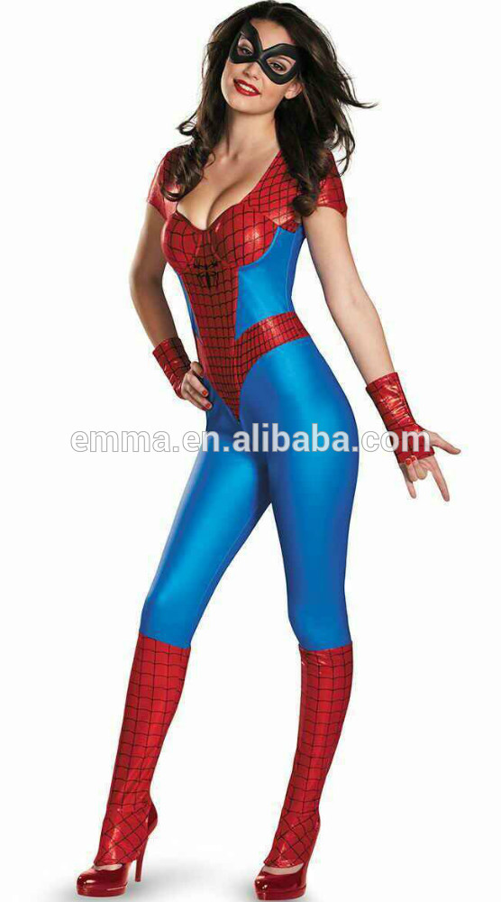 sexy amazing spider girl bustier womens halloween costume bwg 2735 buy spider girl costumehalloween costumecostume product on alibabacom - Spider Girl Halloween Costumes
