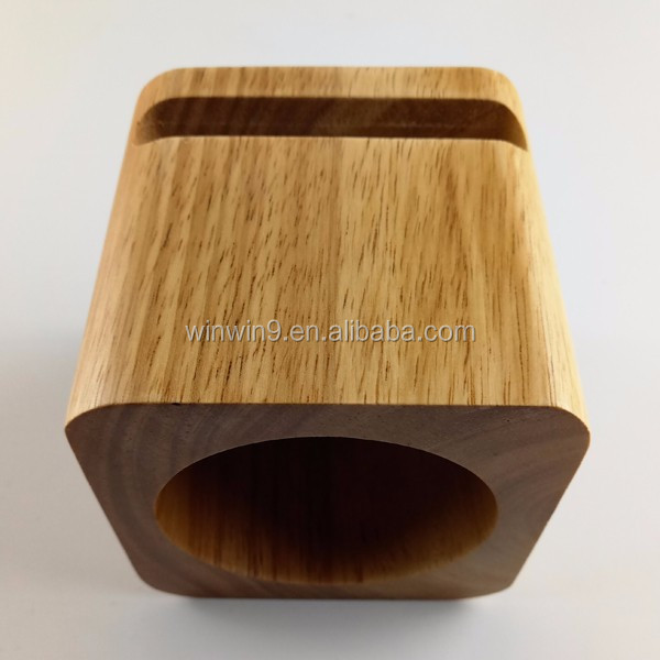 Real bamboo wood mini <strong>speaker</strong> , portable lound-<strong>speaker</strong> for IPhone 7