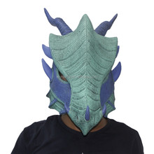 Animal Mask Realistic Deluxe Dragon Latex Masks Halloween Full Head Costumes Accessories