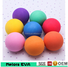 cheapes Eva colored small foam ball made in China