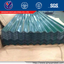 New products color galvanized corrugated steel sheet steel roofing types of iron sheets