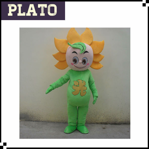 High quality sunflower fancy dress costumes, flower fancy dress costumes