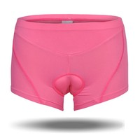 Custom quick dry breathable women cycling underwear